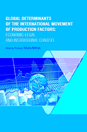 Global determinants of the international movement of production factors